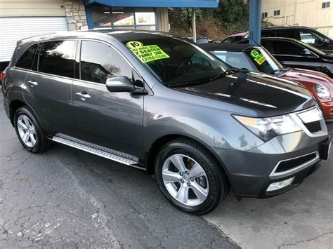 2010 Acura Mdx Mpg by 2010 Acura Mdx Sh Awd 4dr Suv In Sonora Ca Bee Back Motors