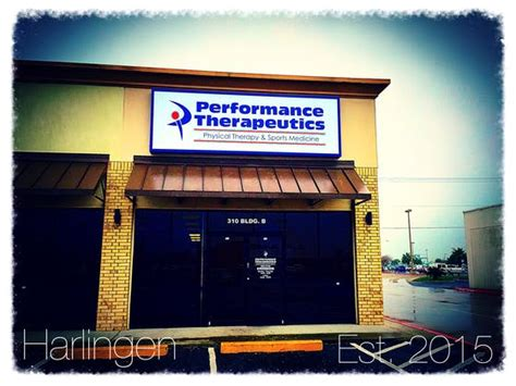 Our office is located at 2323 n ed carey dr. Physical Therapy Harlingen, TX   Performance Therapeutics PT & Sports Medicine