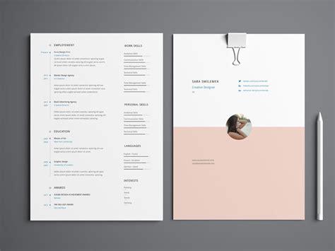 smilemek  resume template  cover letter