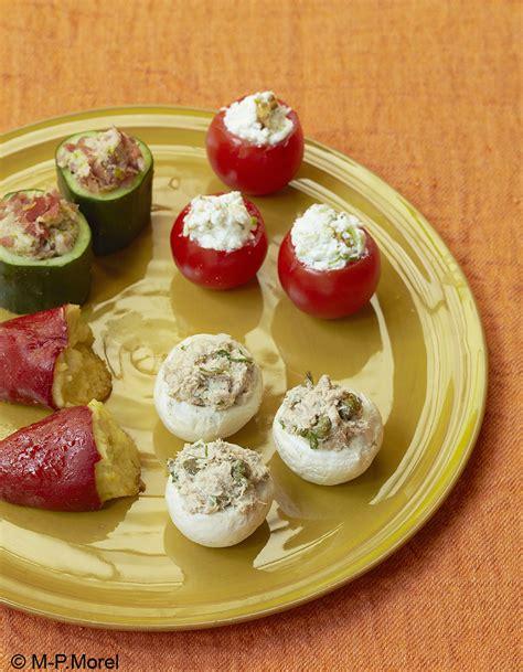 mini table cuisine mini farcis pour 6 personnes recettes à table