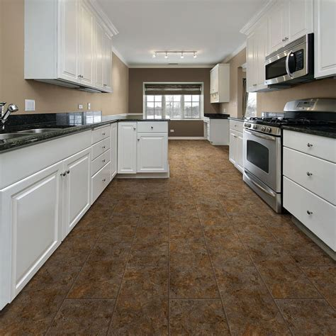 best vinyl tile for kitchen best flooring for kitchens consumer reports autos post 7805