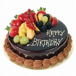 Send Chocolate truffle with fruits topping online by ...