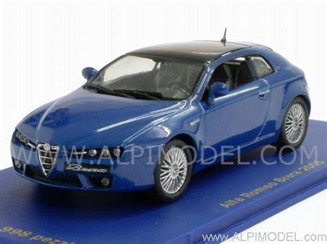 M4 Alfa Romeo Brera 2005 (blue Metallic) (1/43 Scale Model
