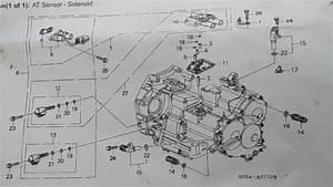Transmission Solenoids 2000 Honda Odyssey