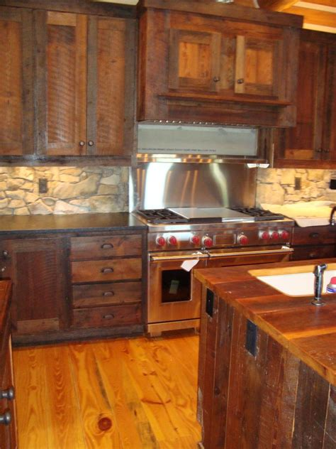 rustic kitchen furniture evolution of rustic live edge wood littlebranch farm