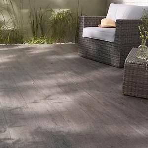 carrelage exterieur bosko anthracite 20 x 120 cm With carrelage pour terrasse exterieur