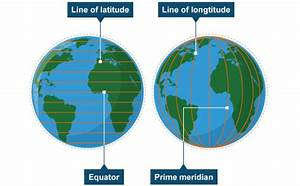 Latitude  Longitude And Drilling Map Projection