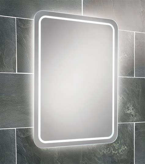 Lit Bathroom Mirrors by Hib Steam Free Led Back Lit Bathroom Mirror 500 X