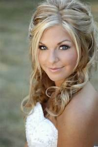 Wedding Hairstyles For Long Hair One Half Up Anf Project