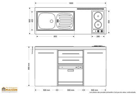 cuisine taille mini cuisine avec frigo lave vaisselle et vitrocéramiques