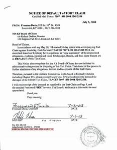 system of contracts threatened letter to obama freeman With notice of default letter template