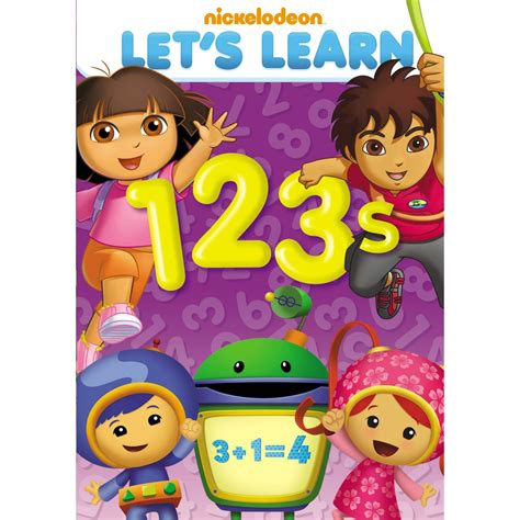 Nickelodeons Lets Learn 123s Dvd Review Giveaway