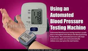 Pros  U0026 Cons Of Automated Vs  Manual Blood Pressure Testing