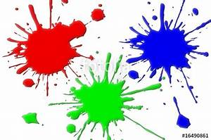 Tache De Couleur Peinture Fond Blanc : taches peintures rvb photo libre de droits sur la banque d 39 images image 16490861 ~ Melissatoandfro.com Idées de Décoration