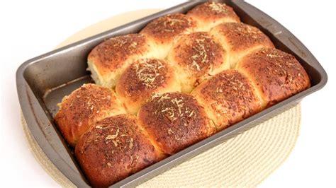 Cheesy Garlic Dinner Rolls Recipe  Laura Vitale Laur
