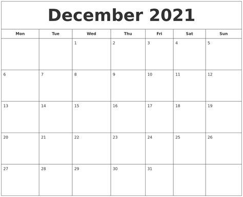 48+ Printable Calendar December 2021  Gif