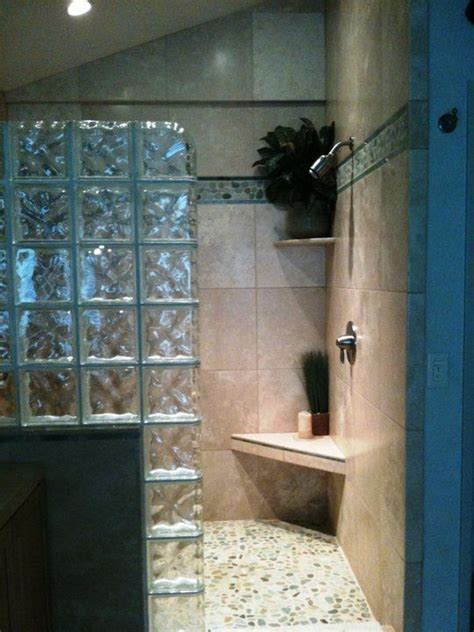 small bathroom design ideas on a budget 22 best images about glass block shower on