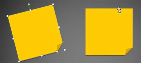 post it note template how to create 3m post it images using powerpoint 2010 and shapes