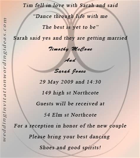 fairytale wedding invitation wording  design
