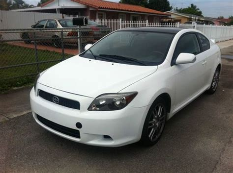 Find Used White 2006 Scion Tc Clean Title Runs Great And