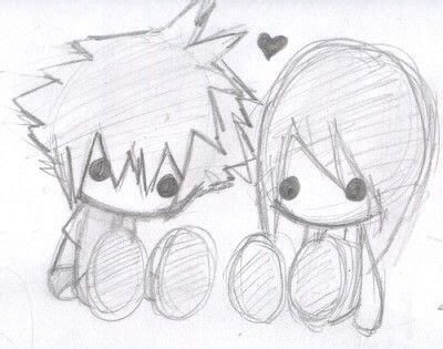 imagenes de anime de amor  dibujar chida love pinterest kawaii anime  drawings