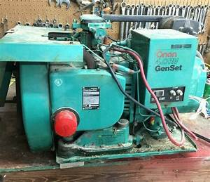 Onan Mcgraw 4 0 Rv Genset Gas Generator 4 0bfa 16004c