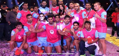 Jaipur Pink Panthers is a professional kabaddi team based ...