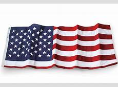 US Flag 5' x 8' Embroidered Polyester