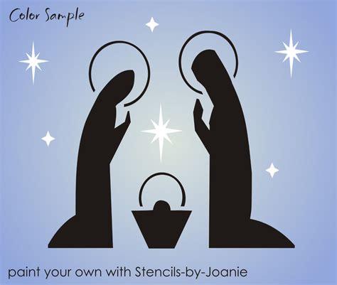 christmas nativity stencil search results calendar 2015