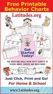 Free Printable Behavior Charts For Home And School