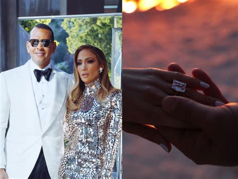 Jennifer Lopez Gets Engaged To Alex Rodriguez After Two