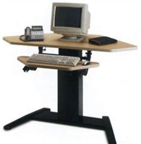 vl2 series standing desk mayline varitask e series electric height adjustable desk