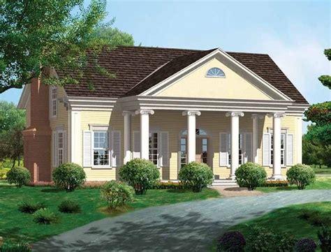 Eplans Greek Revival House Plan