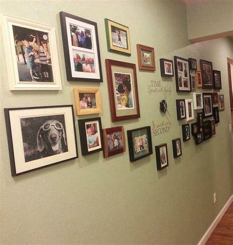 wonderful diy family photo wall clock