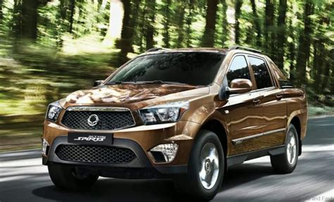 Ssangyong Actyon pickup returns……not for Malaysia yet