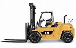 Caterpillar Diesel Forklift Truck Dp100n  Dp120n  Dp135n