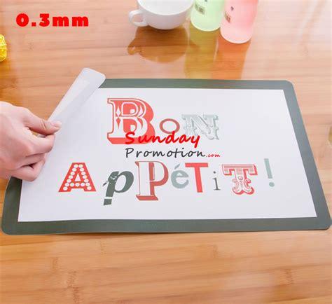 custom printed table mats custom plastic table mat dining mat placemat small 0 3mm