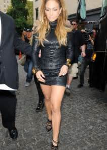 Jennifer Lopez Tight Black Dresses