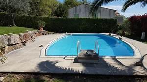 pourtour de piscine excellent entourage de piscine pavs With revetement ideal pourtour de piscine