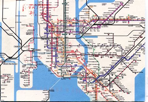 metro map of follow up letters map of bacteria in the new york subway 41913