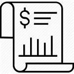 Statement Bank Icon Paper Icons Document Dollar
