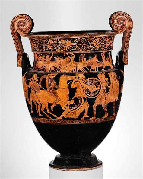 storytelling  ceramics greeks  amazons