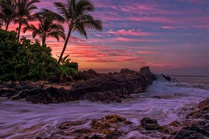 Storm Tropical Morning Palm Wallpapers Sea Tropics