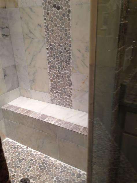 Pebble Tile Bathroom Ideas by 541 Best Bathroom Pebble Tile And Tile Ideas Images