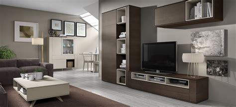 mueble salon madera oscura