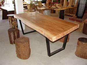 Massivholztisch Selber Bauen : esstisch massivholz handwerkliche idee f r die fans des massivholzes ~ Watch28wear.com Haus und Dekorationen