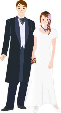 bruidspaar plaatjes en animaties   het huwelijk