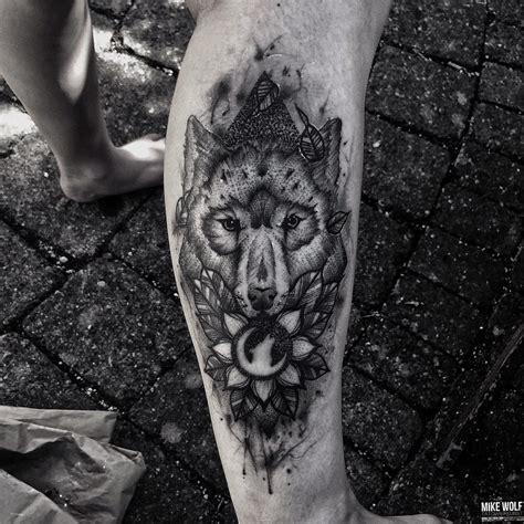 moon wolf tattoo  tattoo ideas gallery