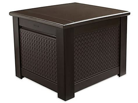 Rubbermaid Patio Storage Cube by Rubbermaid Patio Chic Storage Cube Deck Box Shop Your