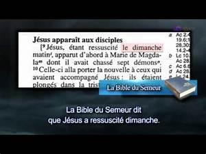 On Est Quel Jour : quel jour est le sabbat biblique youtube ~ Melissatoandfro.com Idées de Décoration